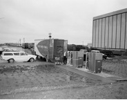 The first computers arrive at the MSC in 1963