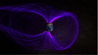 Artist concept of the Earth's magnetosphere