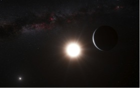 planet around Alpha Centauri B