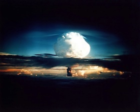 hydrogen bomb test in the Pacific