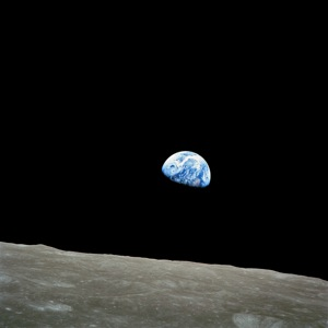 Earth as seen by Apollo 8